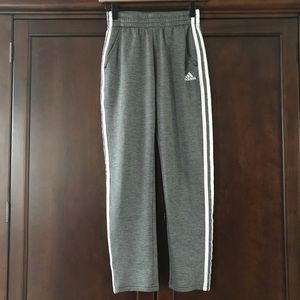 Adidas Boys Medium (10/12) Nylon Track Pants